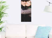 Foto op hout - planken (30x80 cm)