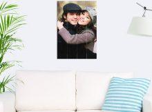 Foto op hout - planken (40x60 cm)