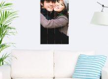 Foto op hout - planken (40x80 cm)