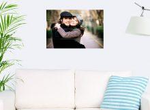 Foto op hout - planken (60x40 cm)