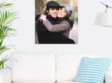 Foto op hout - planken (60x60 cm)