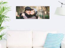 Foto op hout - planken (80x30 cm)