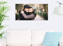 Foto op hout - planken (80x40 cm)