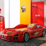 Gp Racer Autobed Rood – kleur: Rood – Beds and More