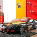 Gp Racer Autobed Zwart – kleur: Zwart – Beds and More