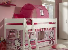 Halfhoogslaper Kim + Hello Kitty Speeltent en Tunnel