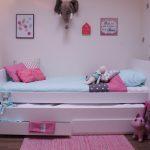 Jamie Bedbank Met Slaap En Opberglades – kleur: Wit – Beds and More