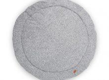 Jollein Boxkleed rond ø 110cm Stonewashed Knit Grey