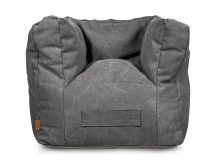 Jollein Fauteuil Beanbag Stonewashed Canvas Grey