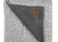 Jollein Ledikantdeken 4-Seizoenen Stonewashed Knit Grey
