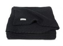 Jollein Ledikantdeken Heavy knit black