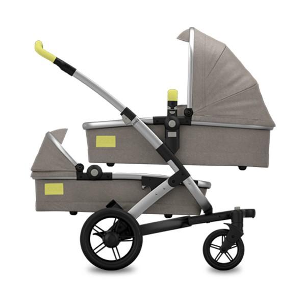Joolz Geo Tailor Twin Graphite - kleur: Zand - Joolz