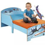 Juniorbed Basic Planes – kleur: Blauw – Beds and More