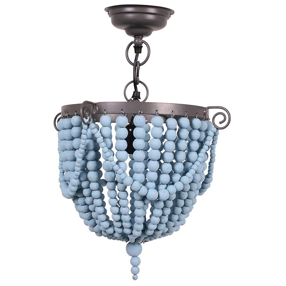Kidsdepot Bead Hanglamp Blue - kleur: Blauw - Kidsdepot