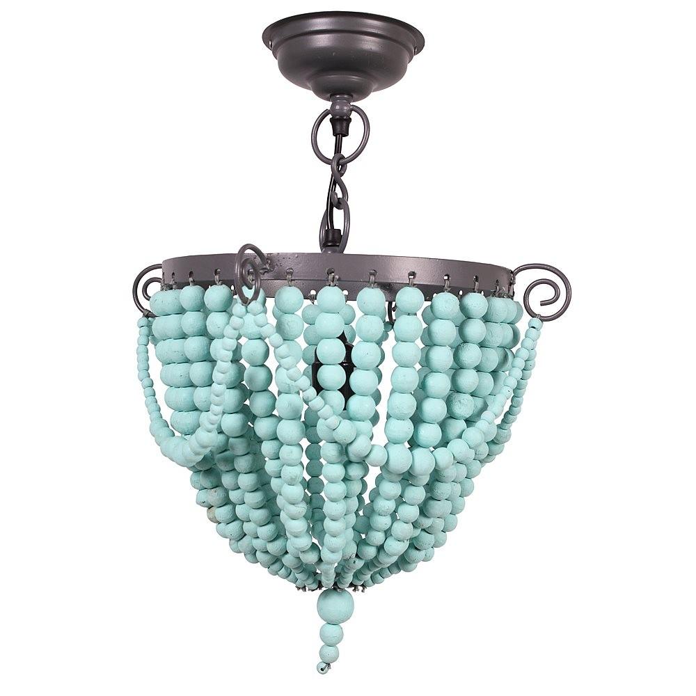 Kidsdepot Bead Hanglamp Mint - kleur: Mint - Kidsdepot