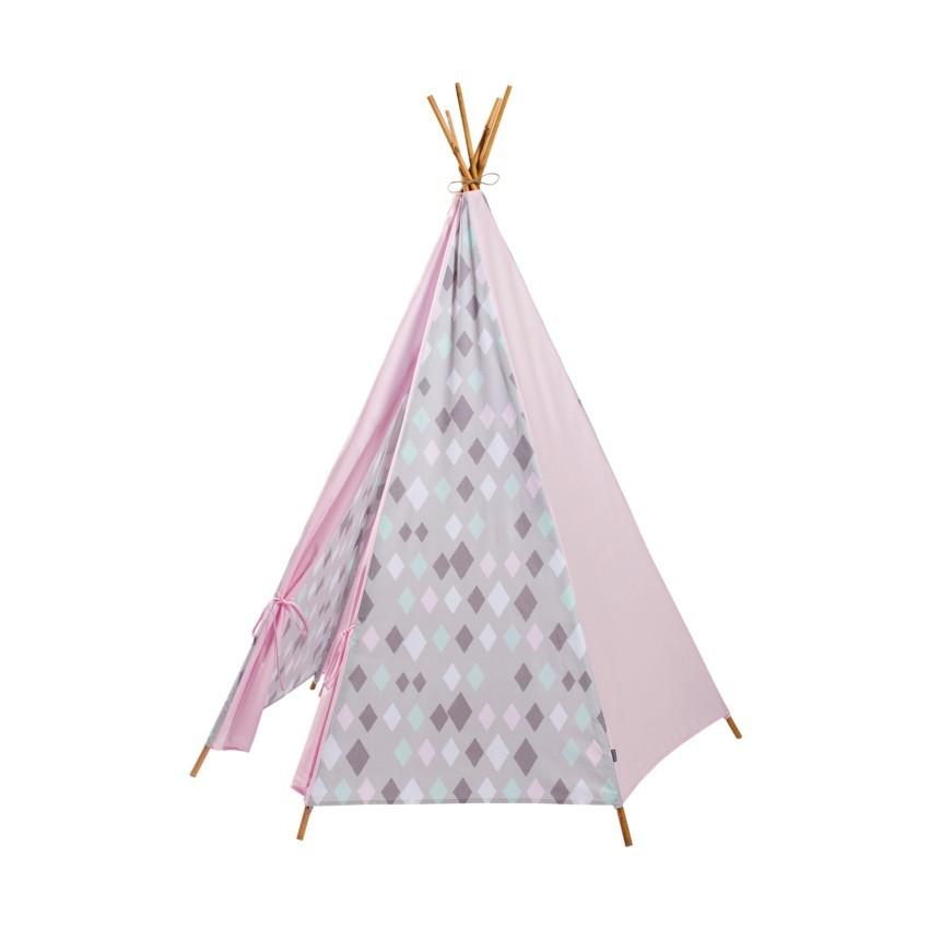 Kidsdepot Wieber Tipi Tent Pink - kleur: Roze - Kidsdepot