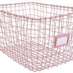 Kidsdepot Wire Mand Set 3 Stuks Pink – kleur: Roze – Kidsdepot