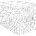 Kidsdepot Wire Mand Set 3 Stuks White – kleur: Wit – Kidsdepot