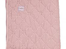 Koeka 1-persoonsdeken Stone-Wash York Old Pink
