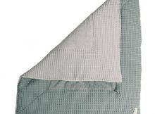 Koeka Boxkleed Amsterdam Wafel Sapphire / Silver Grey Small