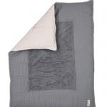 Koeka Boxkleed Amsterdam Wafel Steel Grey Small – kleur: Grijs – Koeka
