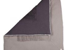 Koeka Boxkleed Amsterdam Wafel Taupe / Dark Grey Large