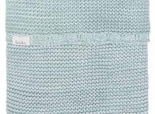 Koeka Ledikantdeken Porto Sapphire/Mint/White