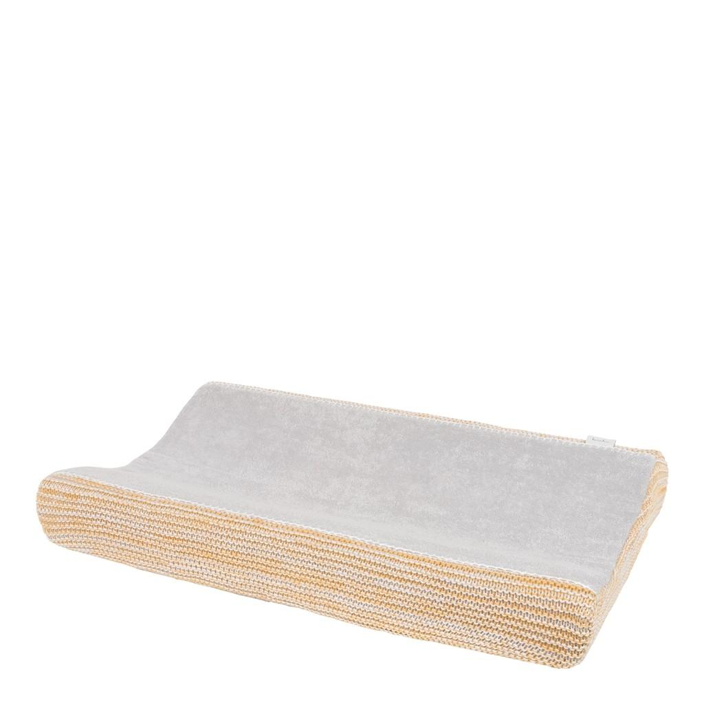 Koeka Waskussenhoes Porto Ochre/Silver/White - kleur: Geel - Koeka