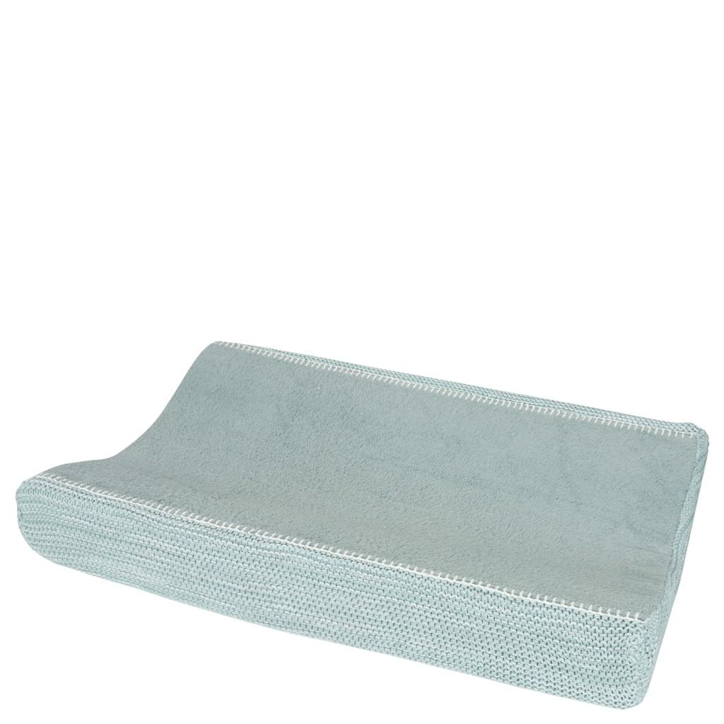 Koeka Waskussenhoes Porto Sapphire/Mint/White - kleur: Groen - Koeka