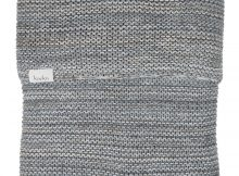 Koeka Wiegdeken Porto Grey/ Soft Blue/ Pebble