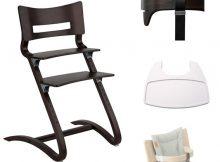 Leander Kinderstoel Combi Walnut