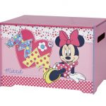 Minnie Mouse Speelgoedkist – kleur: Roze – Beds and More