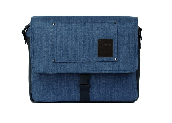 Mutsy Evo Verzorgingstas Farmer Shadow - kleur: Blauw - Mutsy
