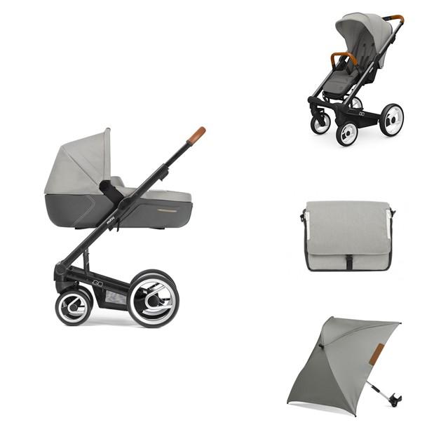mutsy igo black pure storm gratis accessoires babykamer winkel. Black Bedroom Furniture Sets. Home Design Ideas