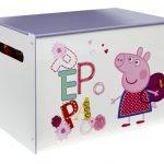 Peppa Pig Speelgoedkist – kleur: Crème – Beds and More