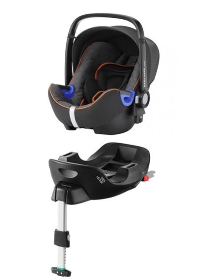 Römer Baby-Safe I-Size Black Marble PACK - kleur: Zwart - Romer