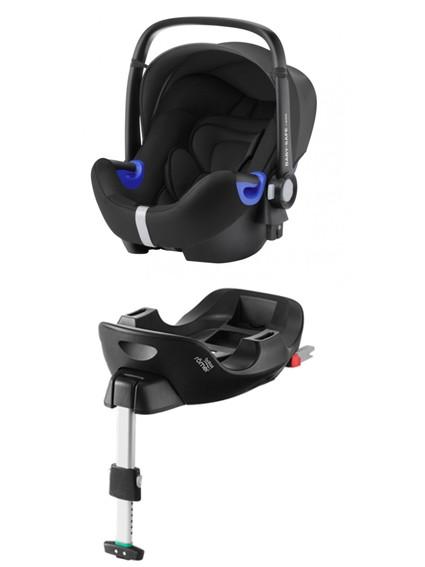 Römer Baby-Safe I-Size Cosmos Black PACK - kleur: Zwart - Romer