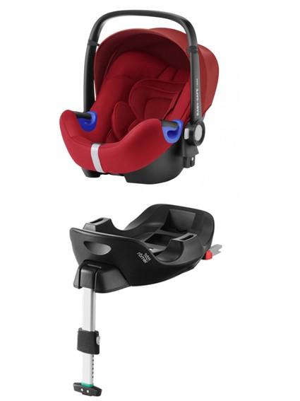 Römer Baby-Safe I-Size Flame Red PACK - kleur: Rood - Romer