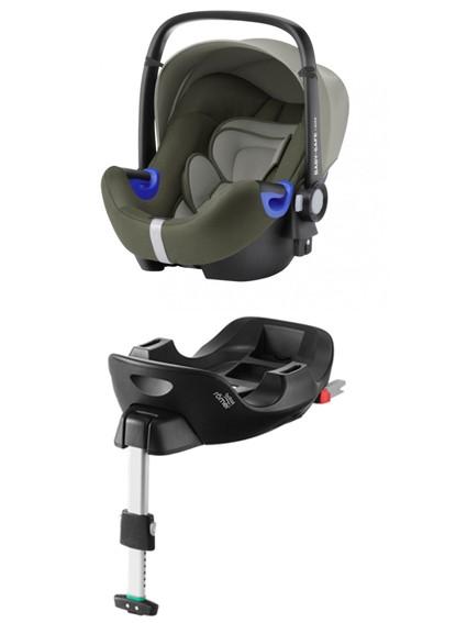 Römer Baby-Safe I-Size Olive Green PACK - kleur: Groen - Romer