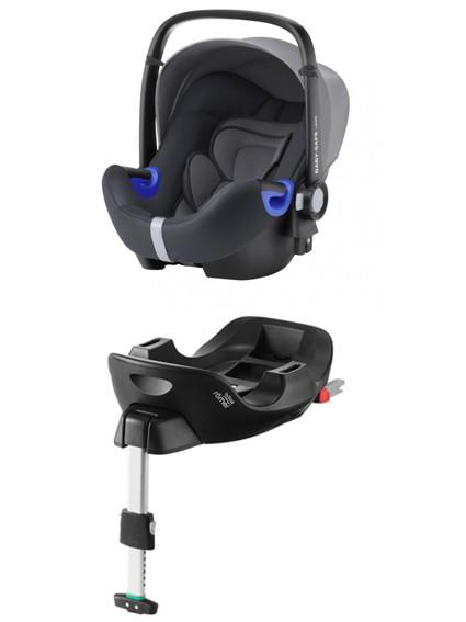 Römer Baby-Safe I-Size Storm Grey PACK - kleur: Grijs - Romer