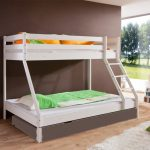 Stapelbed Mike – kleur: Wit – Beds and More