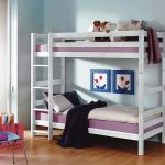 Stapelbed Oliver – kleur: Wit – Beds and More