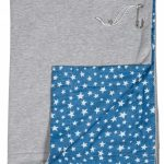 Stapelgoed Plaid 150×200 cm Light Star Limited Edition – kleur: Blauw – Stapelgoed