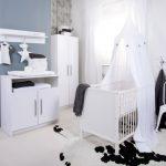 Tess Kledingkast – kleur: Wit – Bebies First