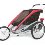 Thule Chariot Cougar2 + Cycle Red 14-X – kleur: Rood – Thule