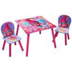 Trolls Tafel met Stoeltjes – kleur: Roze – Beds and More