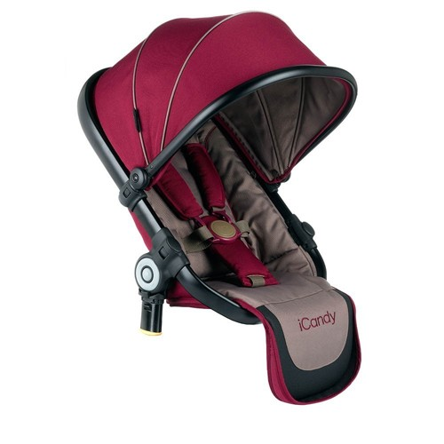 iCandy Peach Converter Seat Claret - kleur: Rood - iCandy